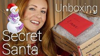 ASMR Secret Santa 🎁 Unboxing Gifts