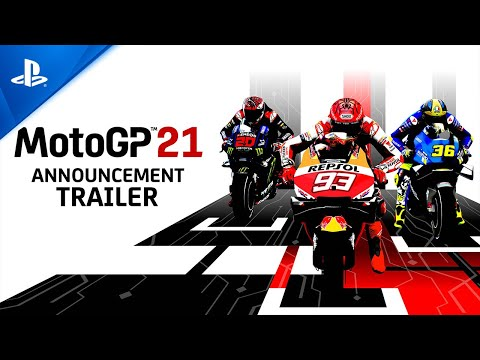 MotoGP 21 - Announcement Trailer | PS5, PS4