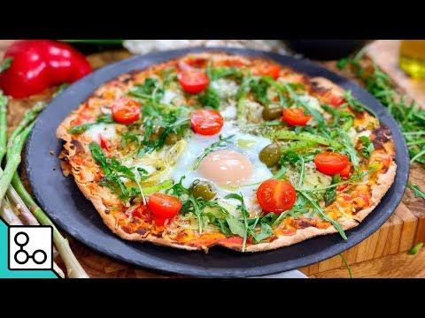 pizza-végétarienne---youcook
