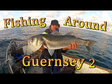 Fishing Around Guernsey - Bass ( Day 2 )