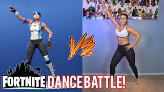 FORTNITE DANCE BATTLE! - (Real Life Vs Fortnite) | The Royalty Family