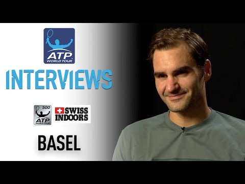 Federer Discusses Bouncing Back To Reach Basel SF