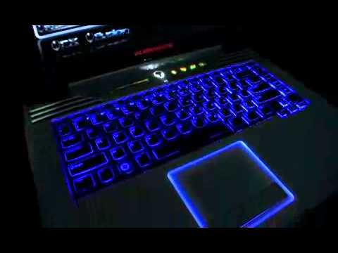 Alienware M15x Gaming Laptop Command Center