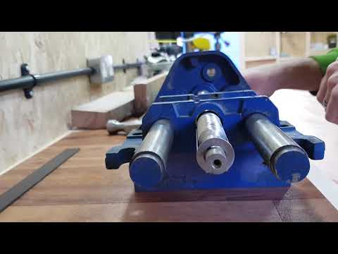 Record 52E quick release vice disassembly, assembly and restoration - woodworking bench vise