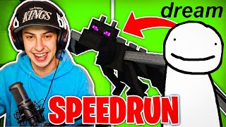 CIZZORZ VS. DREAM (Minecraft Speedrun)