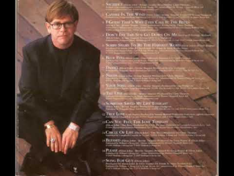 Elton John - Your song (ELTON JOHN - LOVE SONGS)