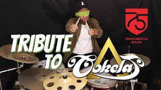 Download Lagu COKELAT - Hari Merdeka, Kebyar-Kebyar, Bendera (Drum Cover Mata Tertutup) mp3