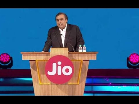 Mukesh Ambani Full Speech At Reliance JIO 4G Launch & AGM of Reliance Industries 2016