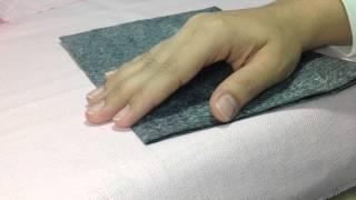 Como riscar tecido sem manchar por Thanynha Avila