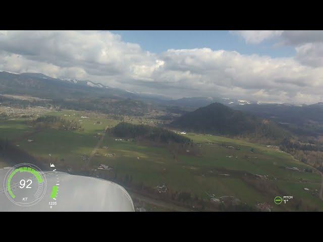 Stinson short flight and short runway