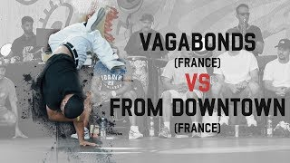 Vagabonds vs From Downtown - Grupa B na Warsaw Challenge 2018