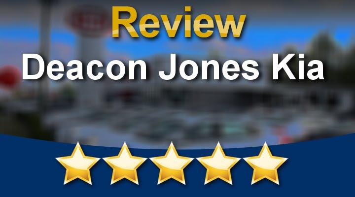 Deacon Jones Kia Goldsboro Wonderful 5 Star Review By Jay D.