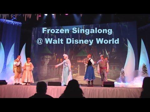 Disney's Frozen Sing-along Celebration @ Walt Disney World / Hollywood Studios