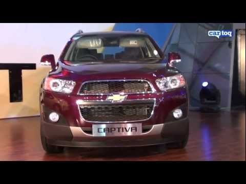 Auto Expo 2012 video review: Chevrolet Captiva AT by CarToq
