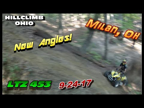 [HILLCLIMB OHIO] 9-24-17 HILLCLIMBING/RIDING, Milan, Oh (NEW ANGLES)