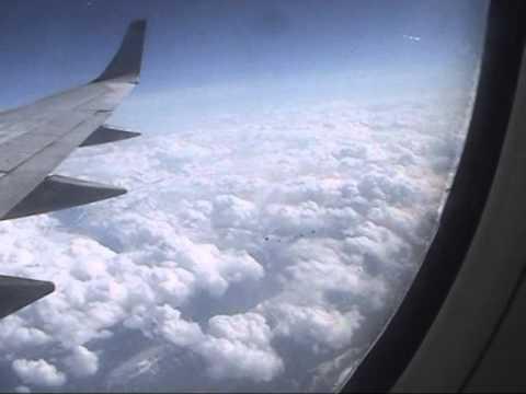 Barcelona-Moscow Flight
