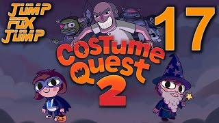 Costume Quest 2 100% Playthrough - The Solar System Costume - PART 17