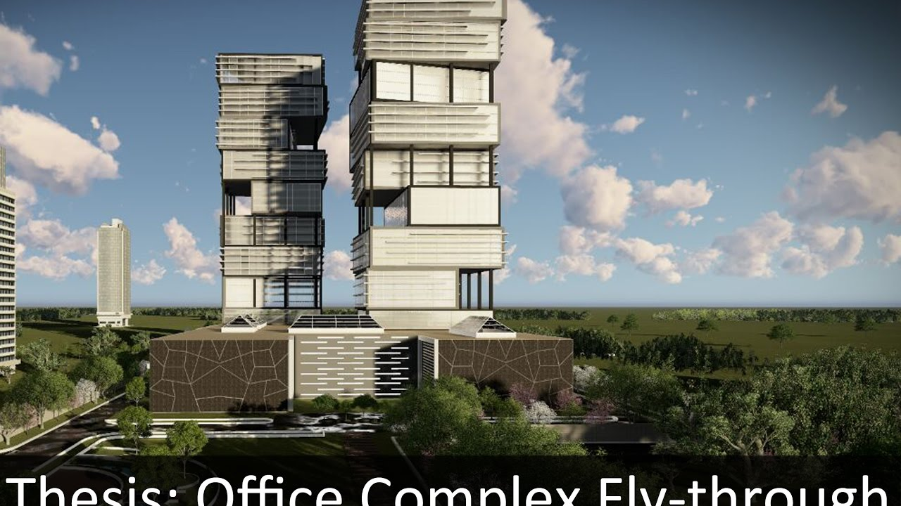 Thesis Project: Office Complex by Khyati Rajani