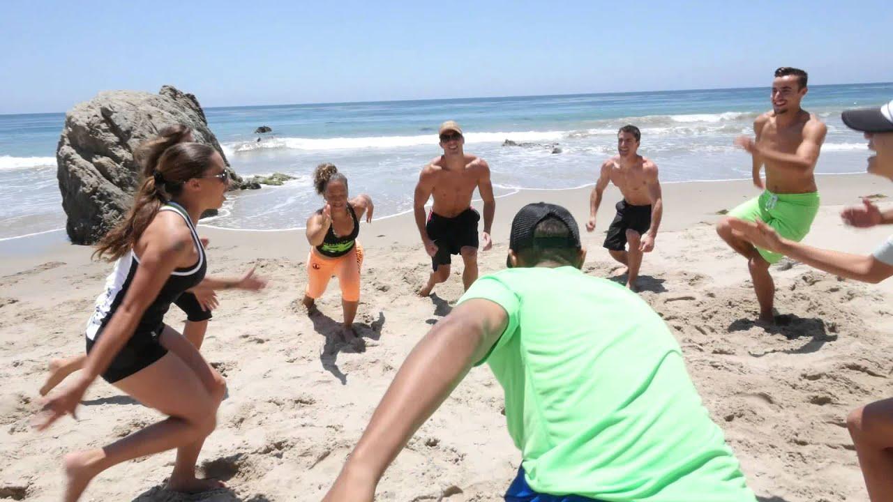 #ActiveBodyFit – Foundation Beach Workout 1