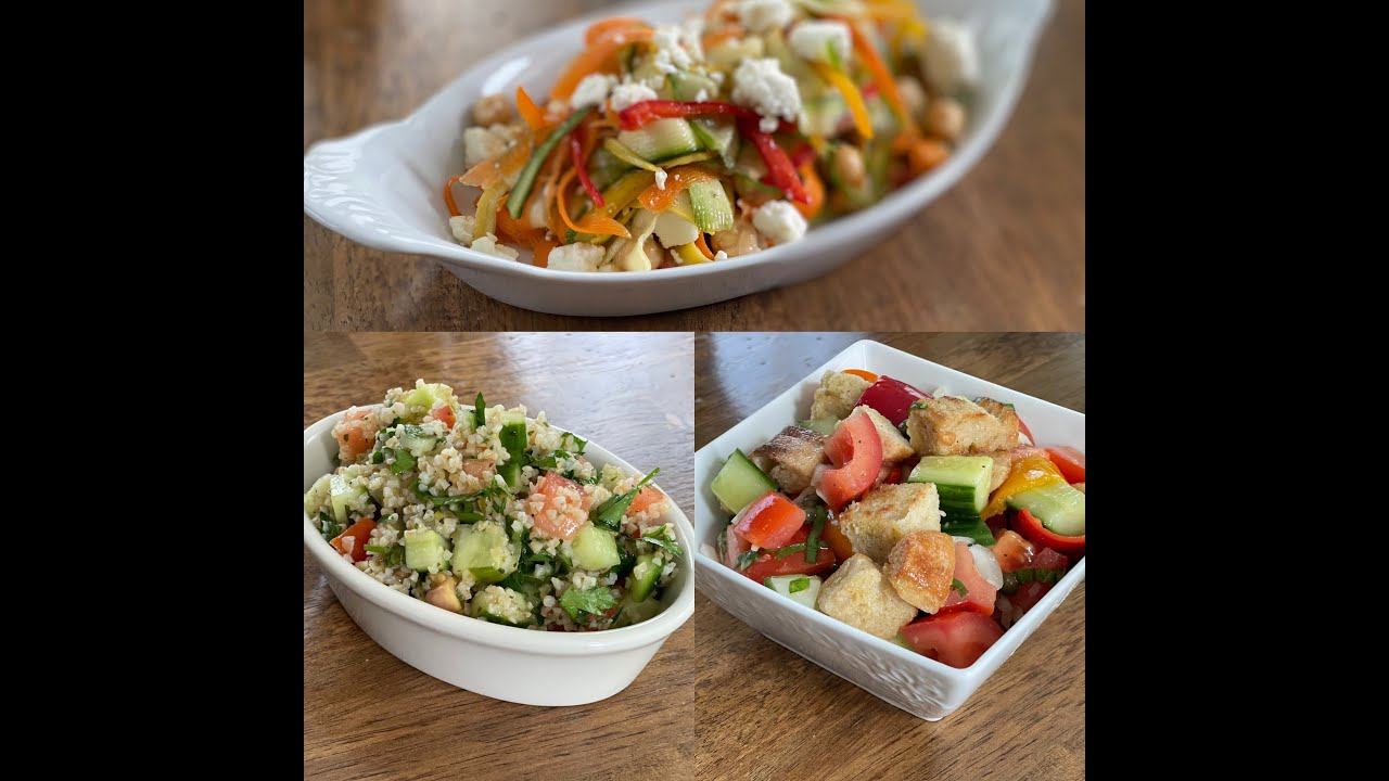 Spring and summer sides / salads for your picnic, cookout or pool party.