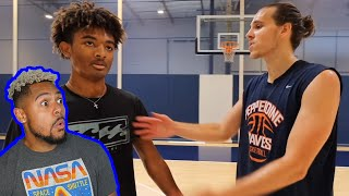 AJ Lapray gets heated and goes OFF! Trash Talking High School Hooper EXPOSED! 1v1 Basketball in LA!