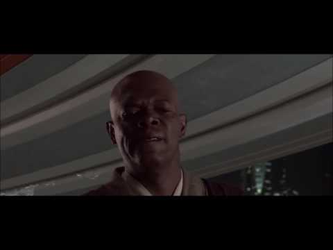 Mace Windu VS. Palpatine but text to speech