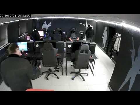Треш в компьютерном клубе или как работает охрана