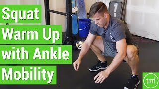 Squat Warm Up with Ankle Mobility | Week 22 | Movement Fix Monday | Dr. Ryan DeBell
