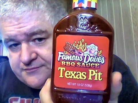 Famous Dave's Texas Pit BBQ sauce