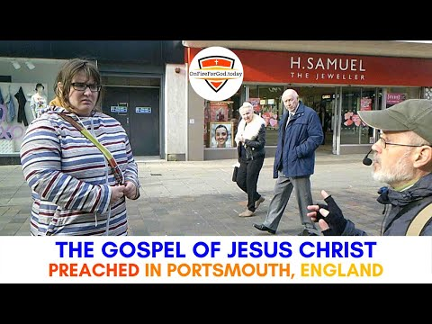 UK Street Preaching: Commercial Road, Portsmouth, England