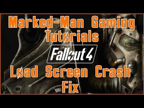 Fallout 4 Load Screen Crash | Tutorial Fix