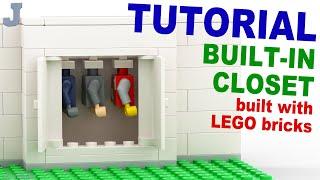 Tutorial - Lego Built-in Closet [cc]