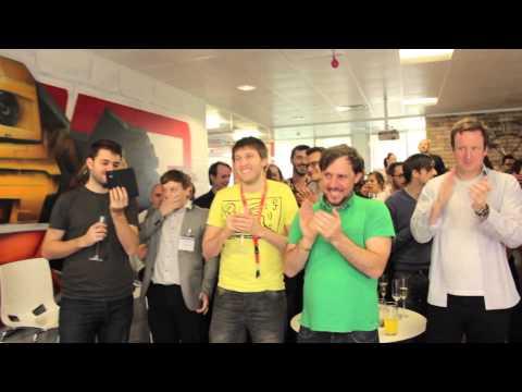 Just Eat UK - IPO Launch - Celebration