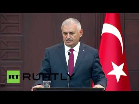 Turkey: PM Yildirim vows to 'purge' coup supporters