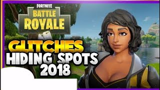 TILTED TOWERS GLITCH HIDING SPOTS FORTNITE BATTLE ROYALE