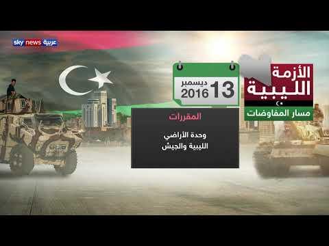 مسار المفاوضات لحل الأزمة الليبية  - نشر قبل 3 ساعة