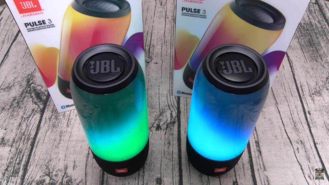 Jbl pulse 3 led bluetooth speakers youtube for Housse jbl pulse 3