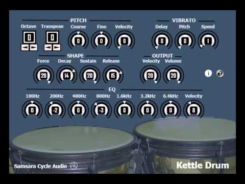 Kettle Drum VST by Samsara Cycle Audio