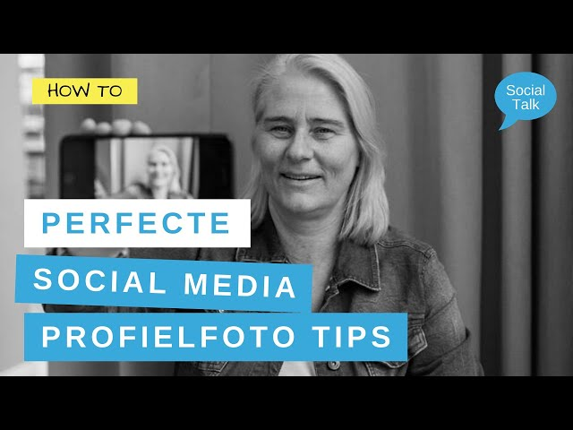 3 Tips voor de perfecte social media profielfoto