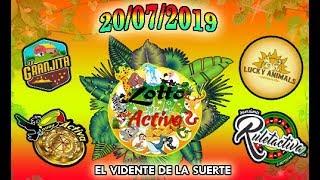 Datos Fijos para Lotto Activo y la Granjita 20/07/2019 El Vidente de la Suerte!!!