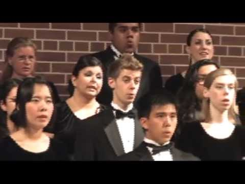 SJSU Concert Choir - Goodnight Moon (World Premiere)