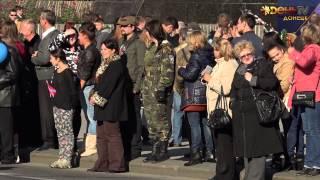 Празднование полугодия независимости ДНР в Донецке 04.10.2014