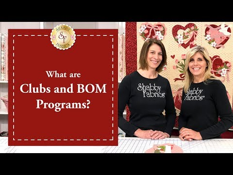 What are Clubs & Block of the Month Programs? | Shabby Fabrics