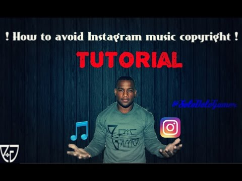 How to avoid Instagram Music Copyright on videos