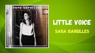 Sara Bareilles - Little Voice (Lyrics)