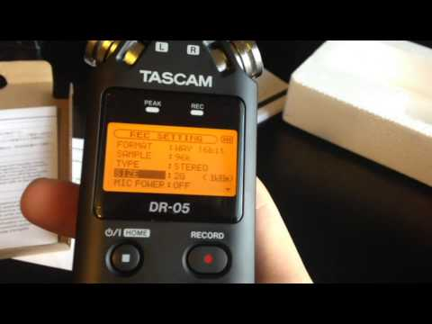 Tascam DR-05 Review and Test