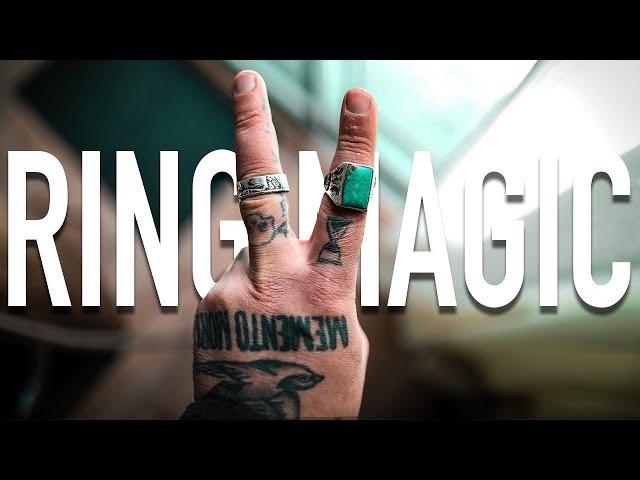 Ring Throw Magic Trick - TUTORIAL