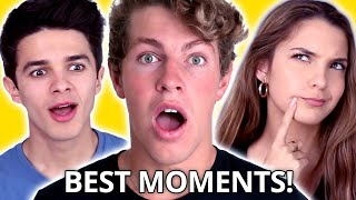 Ultimate BEN AZELART Compilation - FUNNY MOMENTS w/ Brent Rivera, CUTEST DATES w/ Lexi Rivera & MORE