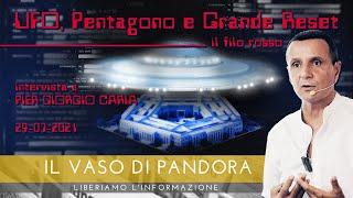 UFO, #PENTAGONO E GRANDE RESET: il filo rosso - IL VASO DI #PANDORA