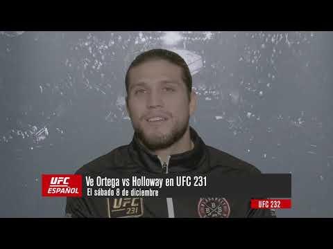 UFC 231: Entrevista Previa Brian Ortega